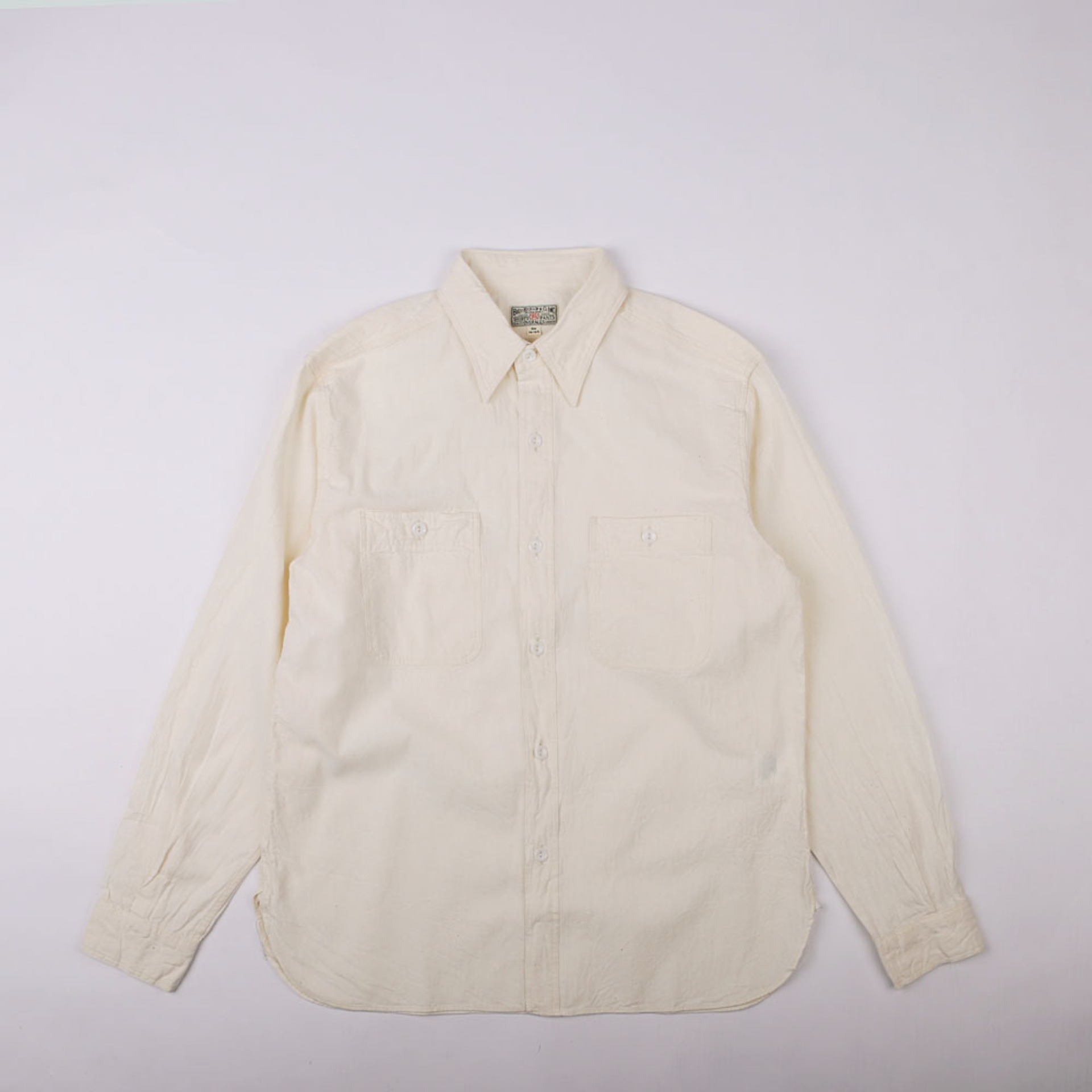CHAMBRAY WORK SHIRT(RESTOCK)(White)