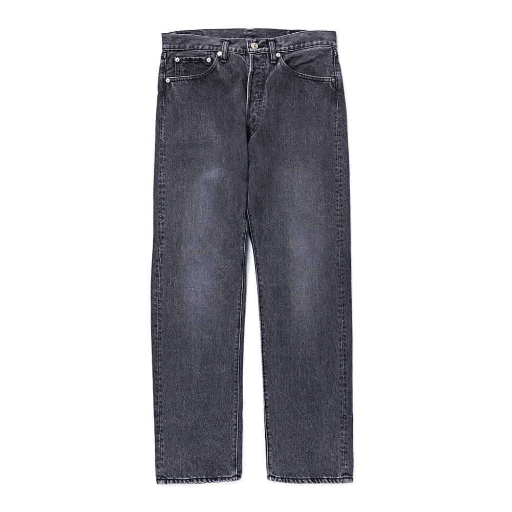 105 Standard Denim Black Stone Washed