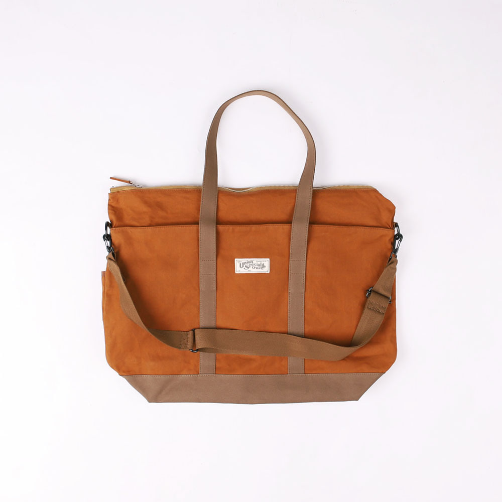 "[Union Special Overalls]Work Tote Bag""RATTLER""(Maple Brown)"