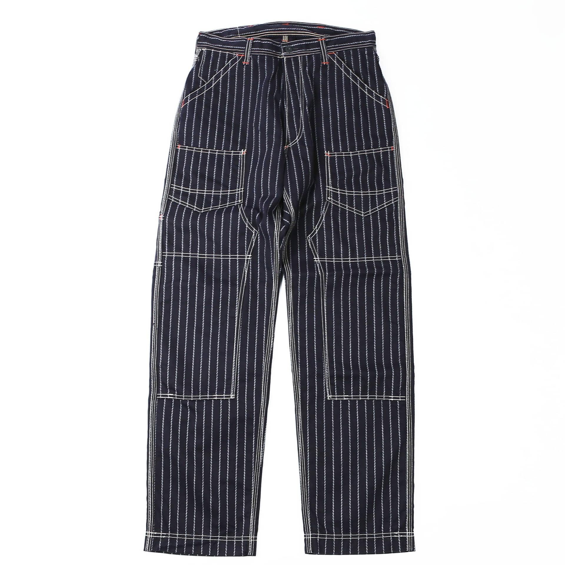 [Union Special Overalls]Work PantsDERRICKMAN(Native Pattern Stripe)
