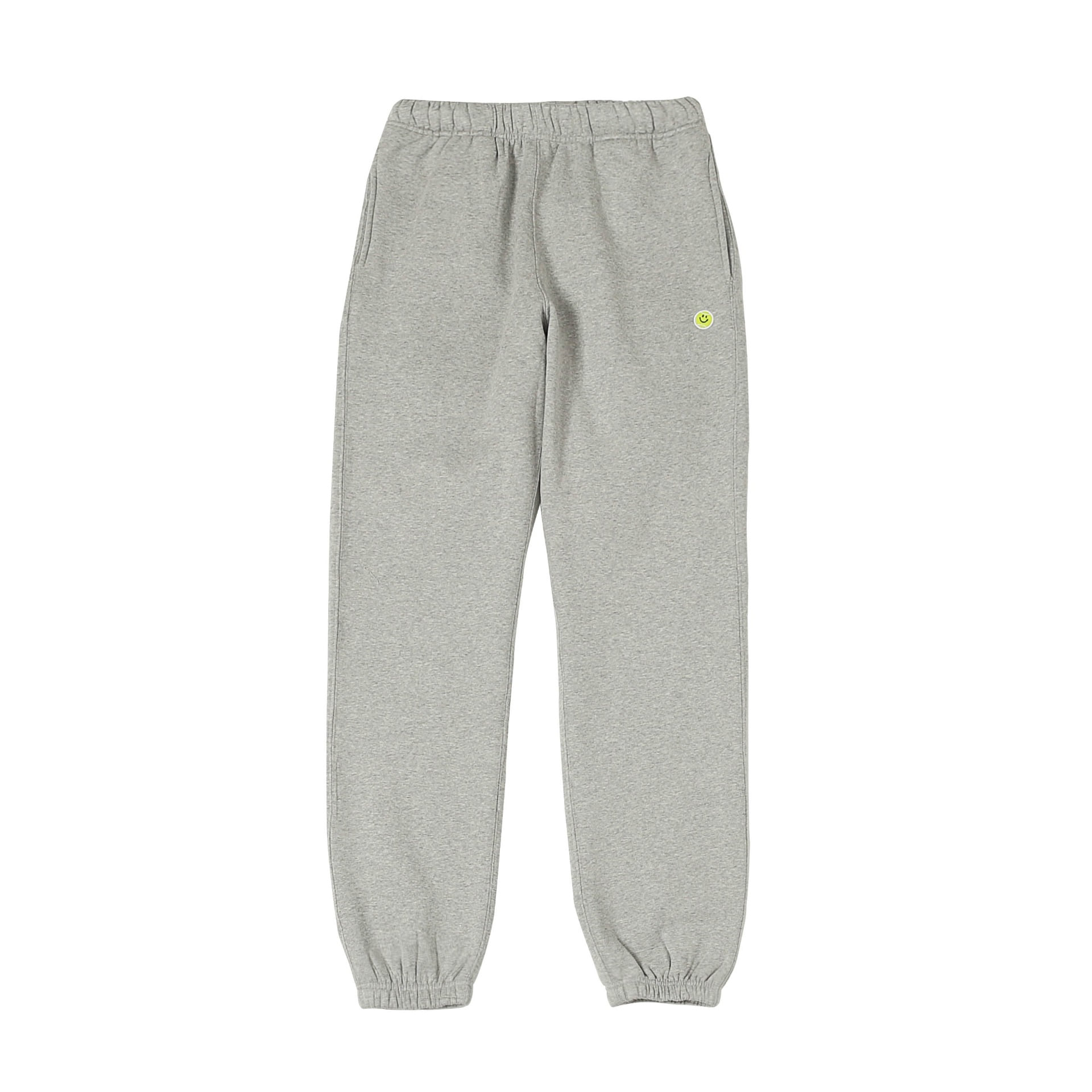 Smile Ball Sweat Pants Melange Grey