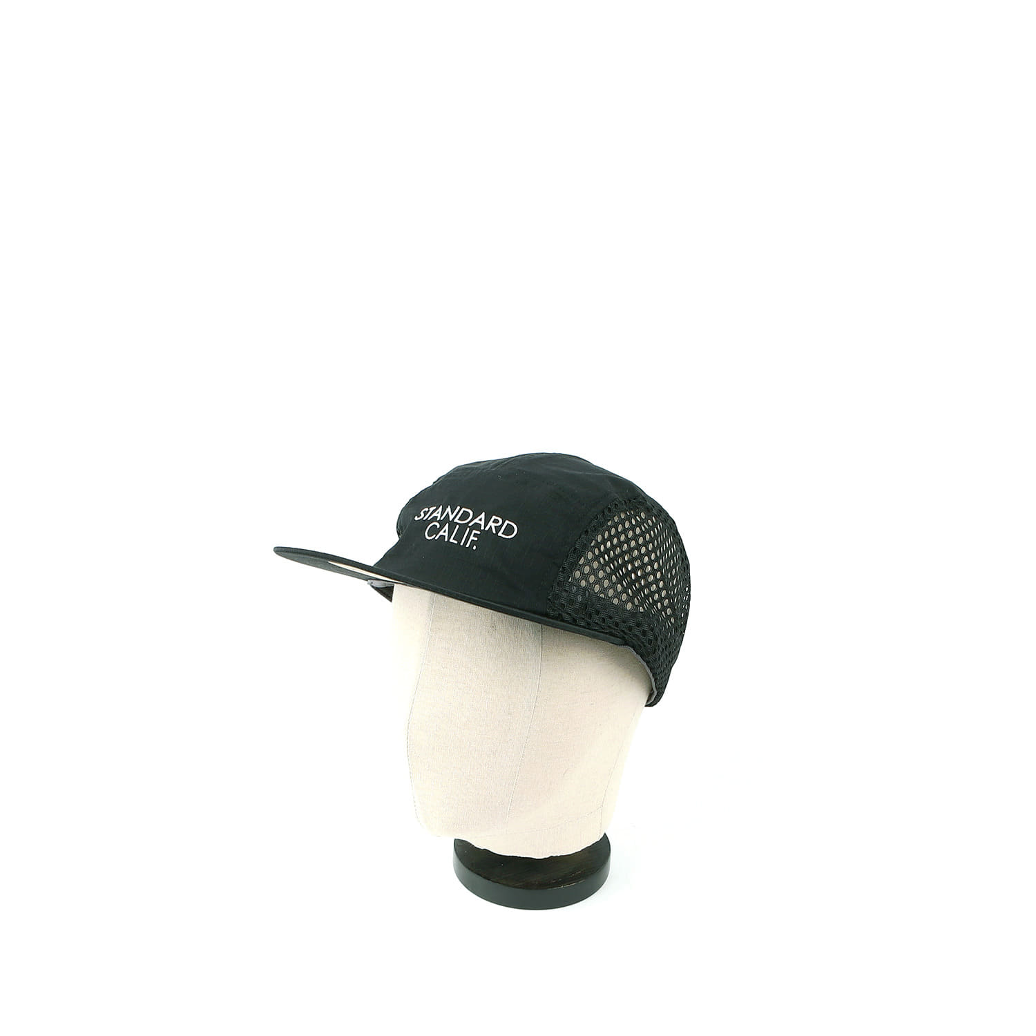 SD Coolmax Stretch Ripstop Camp Cap (Black)