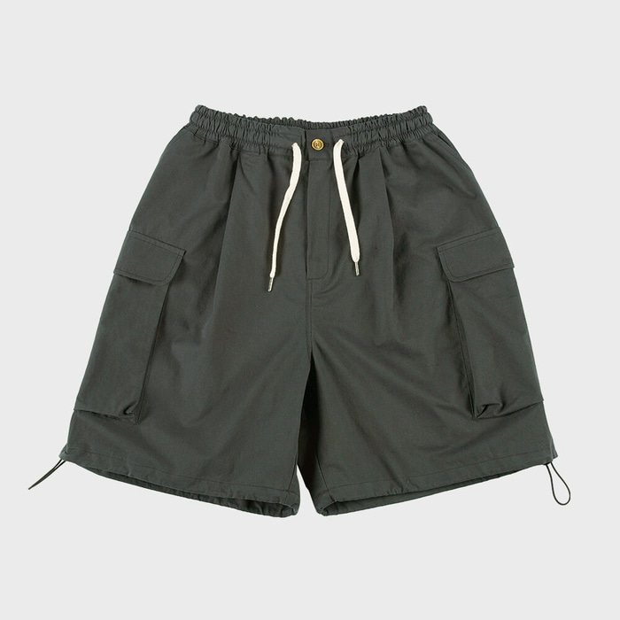 CB WIDE CARGO SHORTS(SMOKE)