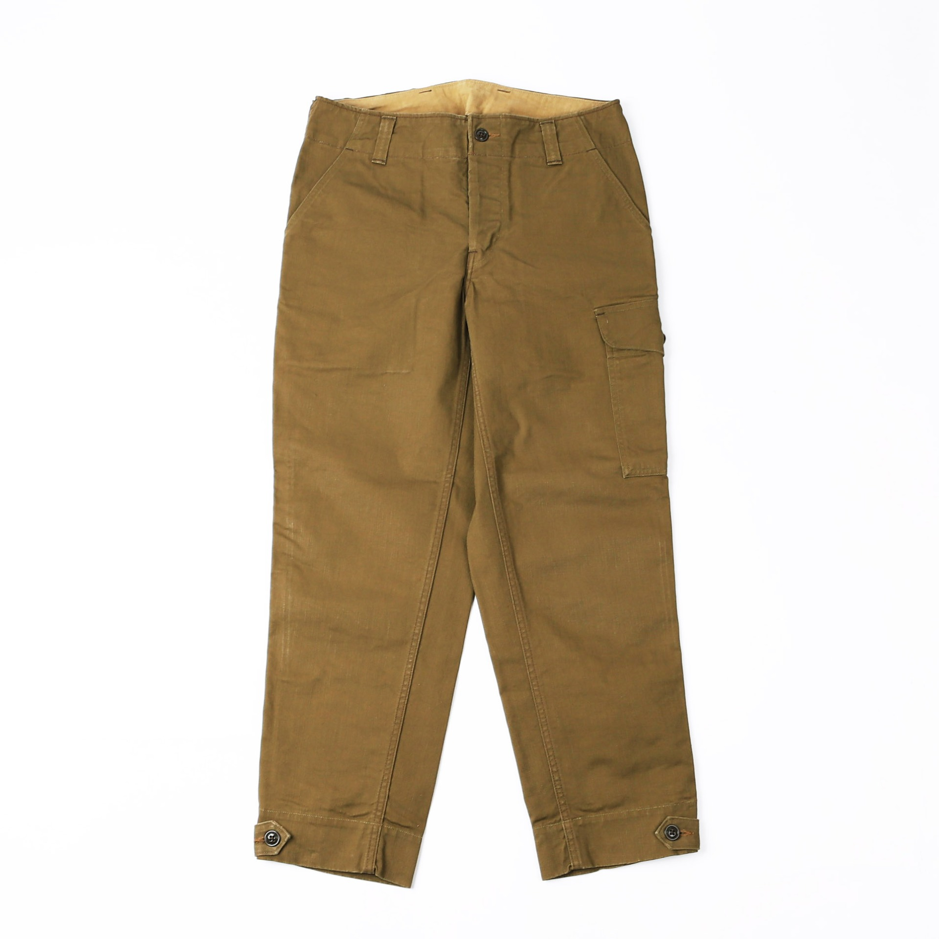 [Union Special Overalls]Military TrouserAVIATORS TROUSERS(Dark Khaki Beige)