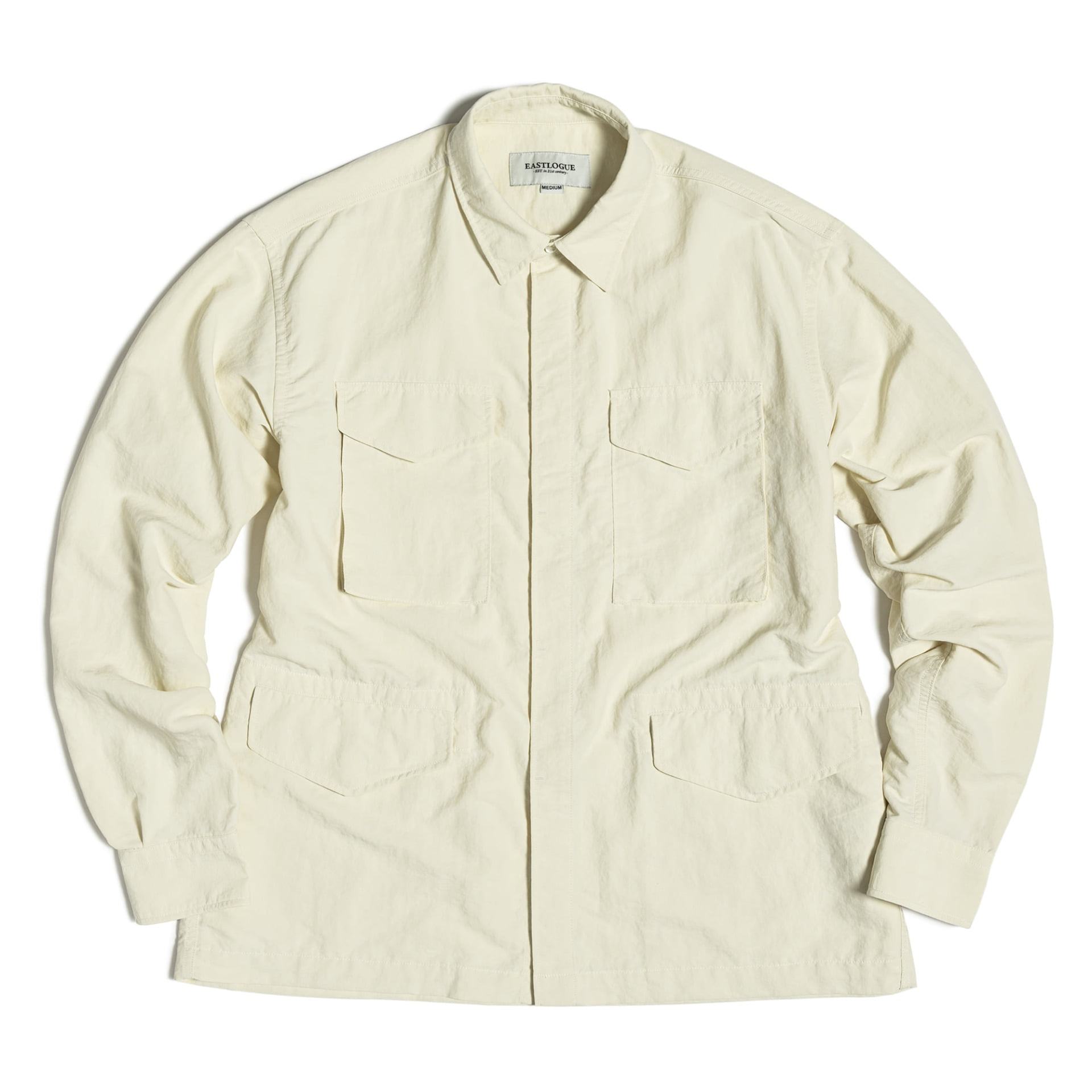 M65 SHIRT JACKET (Off White Nylon Washer)