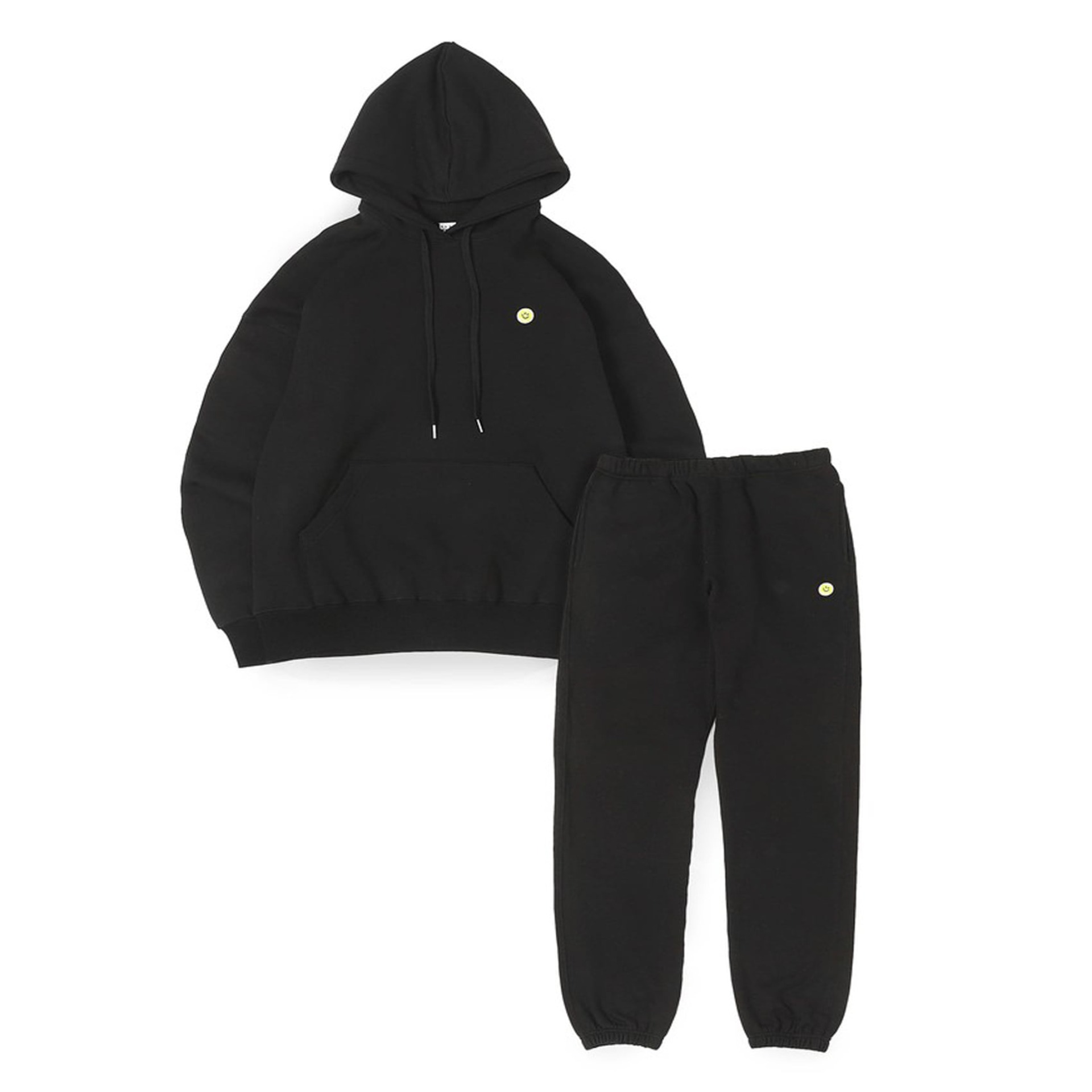 Smile Ball Sweat Set Up (Black)