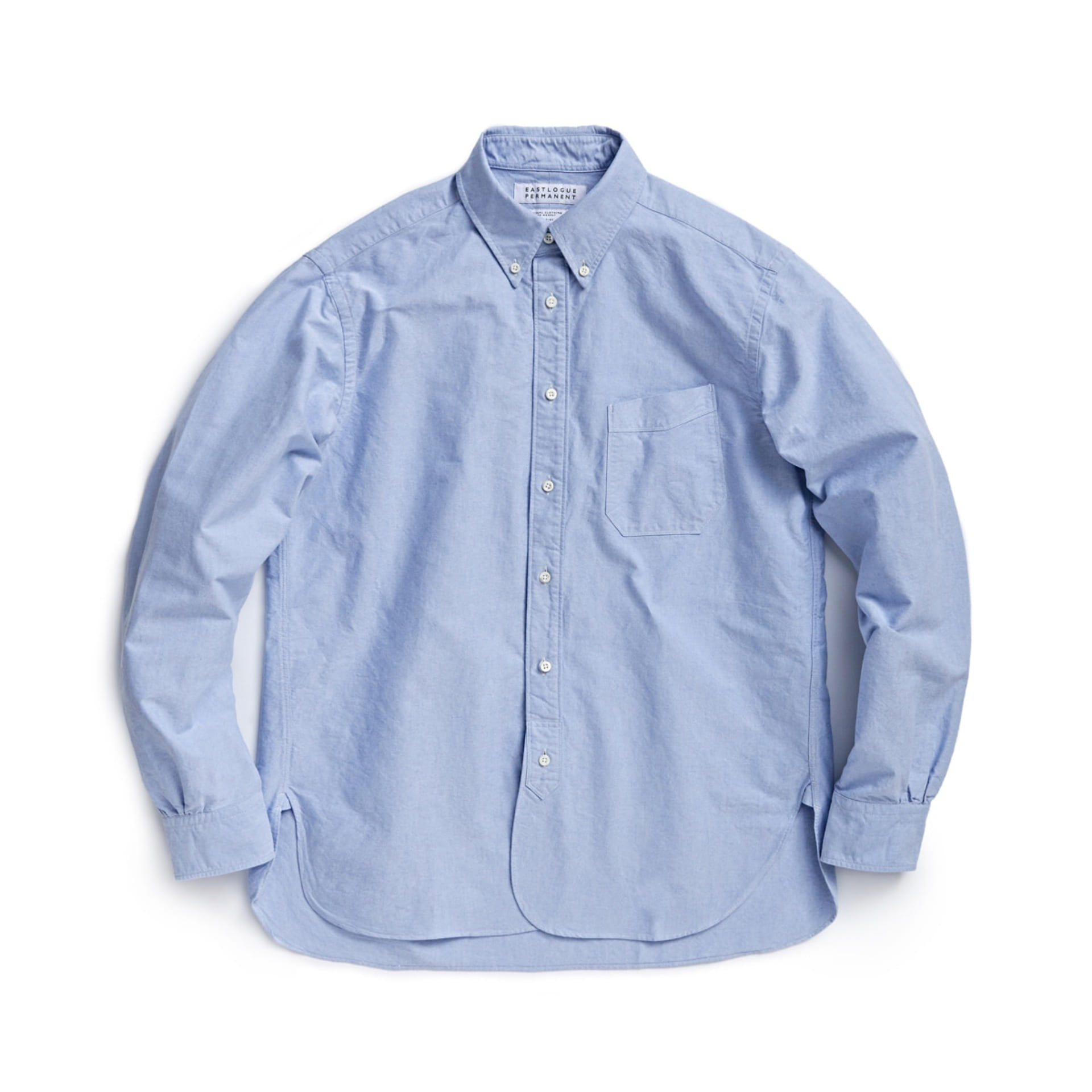 ELP B.D REGULAR SHIRT (Blue Oxford)