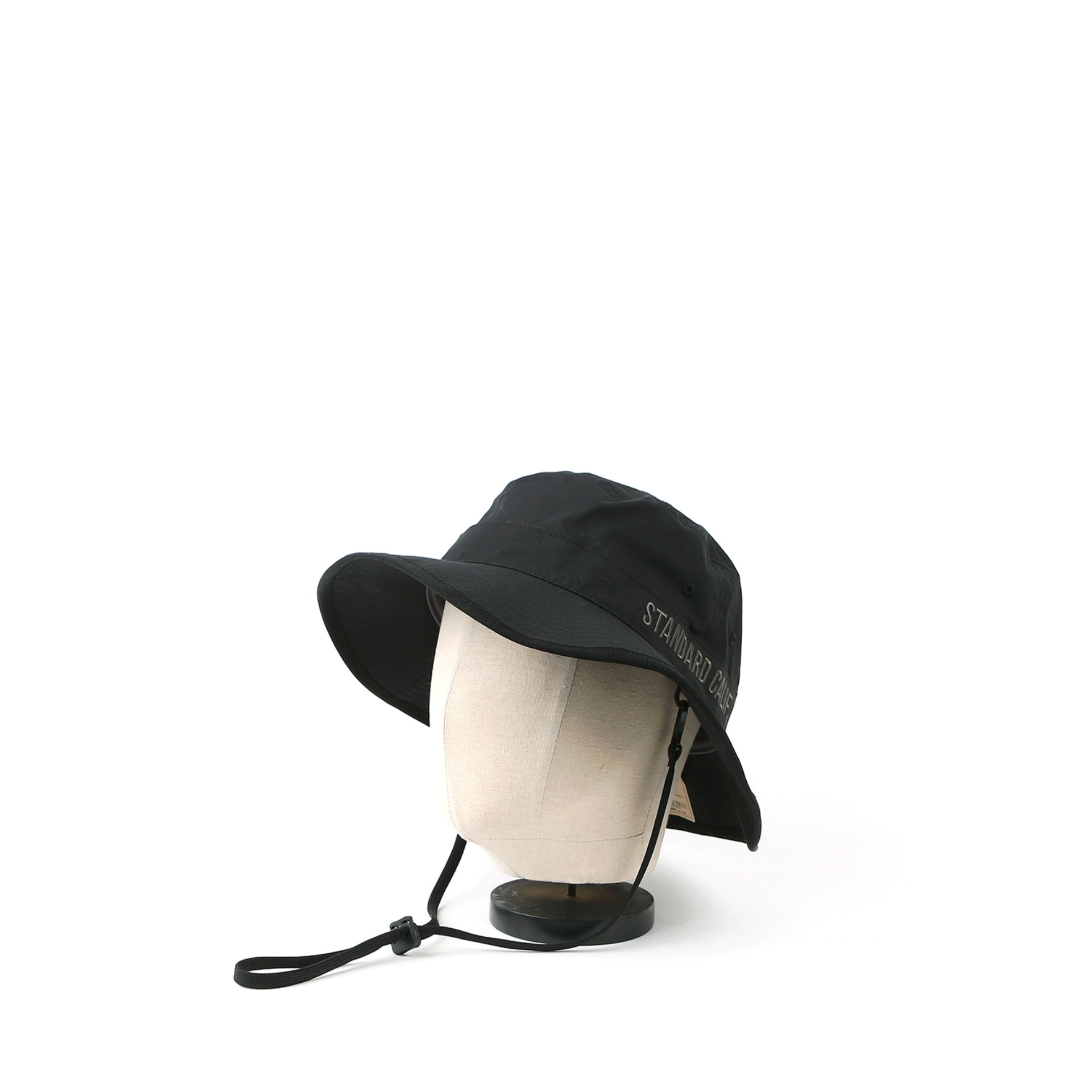 SD Coolmax Stretch Ripstop Camp Hat (Black)