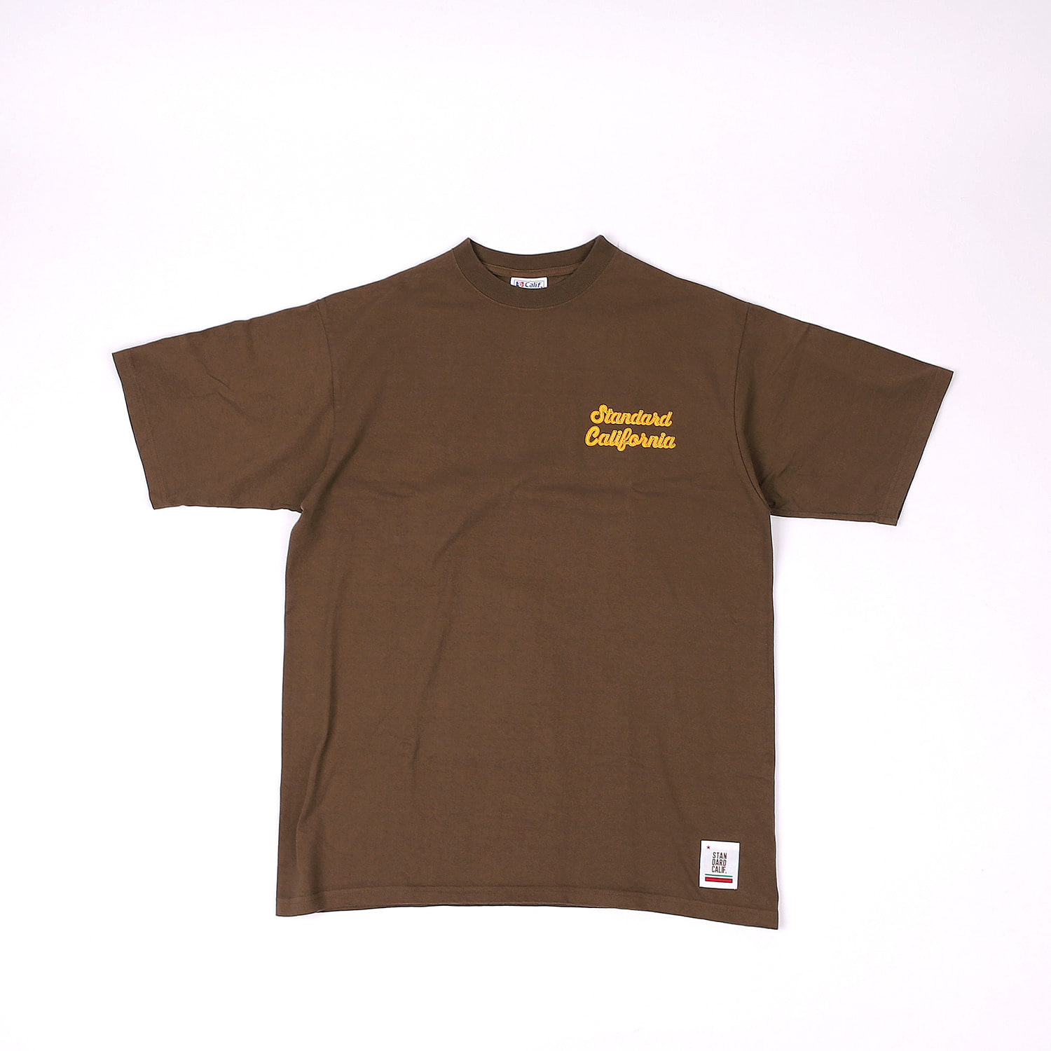 SD Heavyweight Script Logo T (Brown)