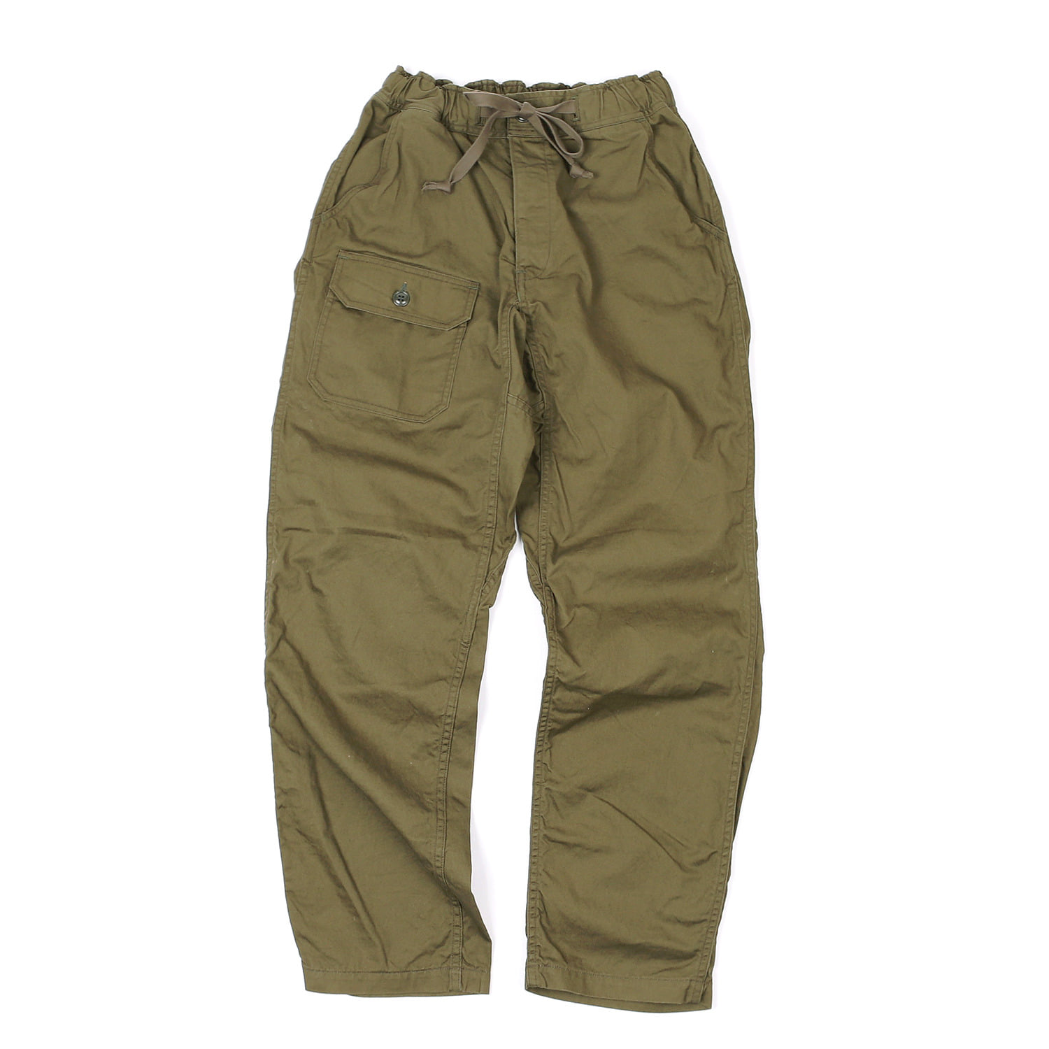 "[Union Special Overalls]Military Trousers""FIELDWORKER TROUSERS""(Olive)"