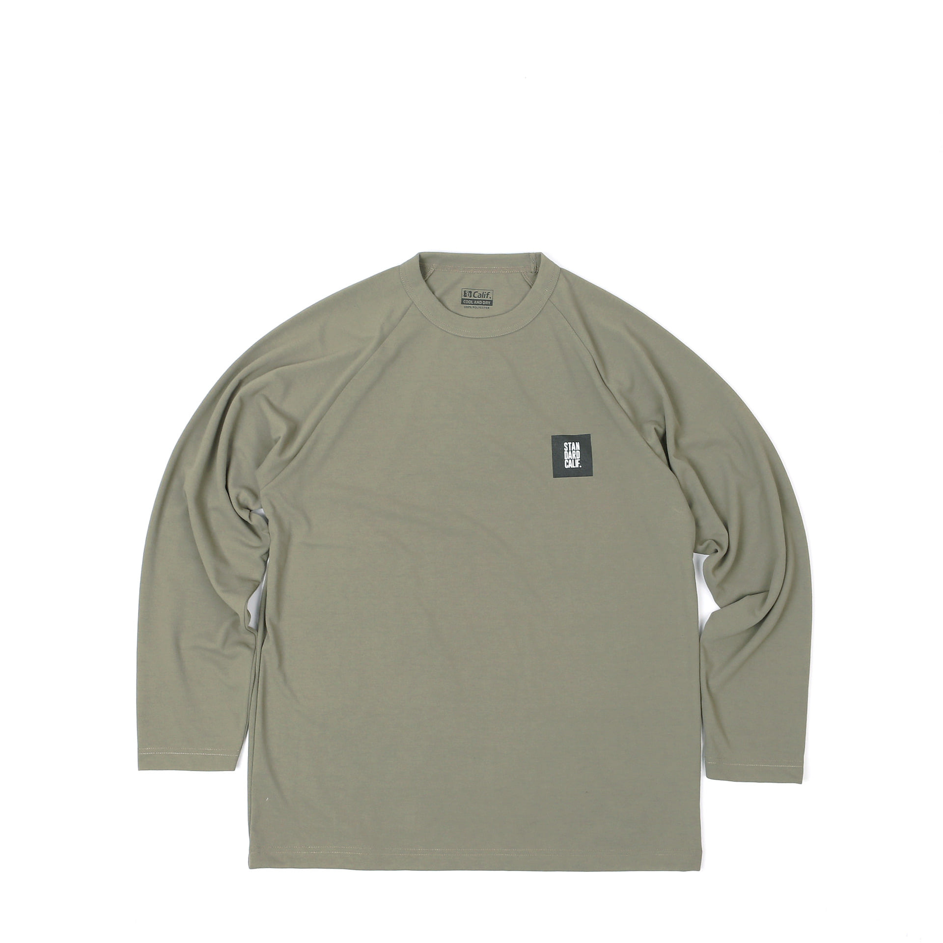 SD Tech Dry Box Logo Long Sleeve T