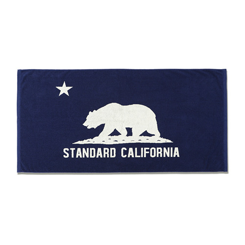 SD Cal Flag Hand Towel (Navy)