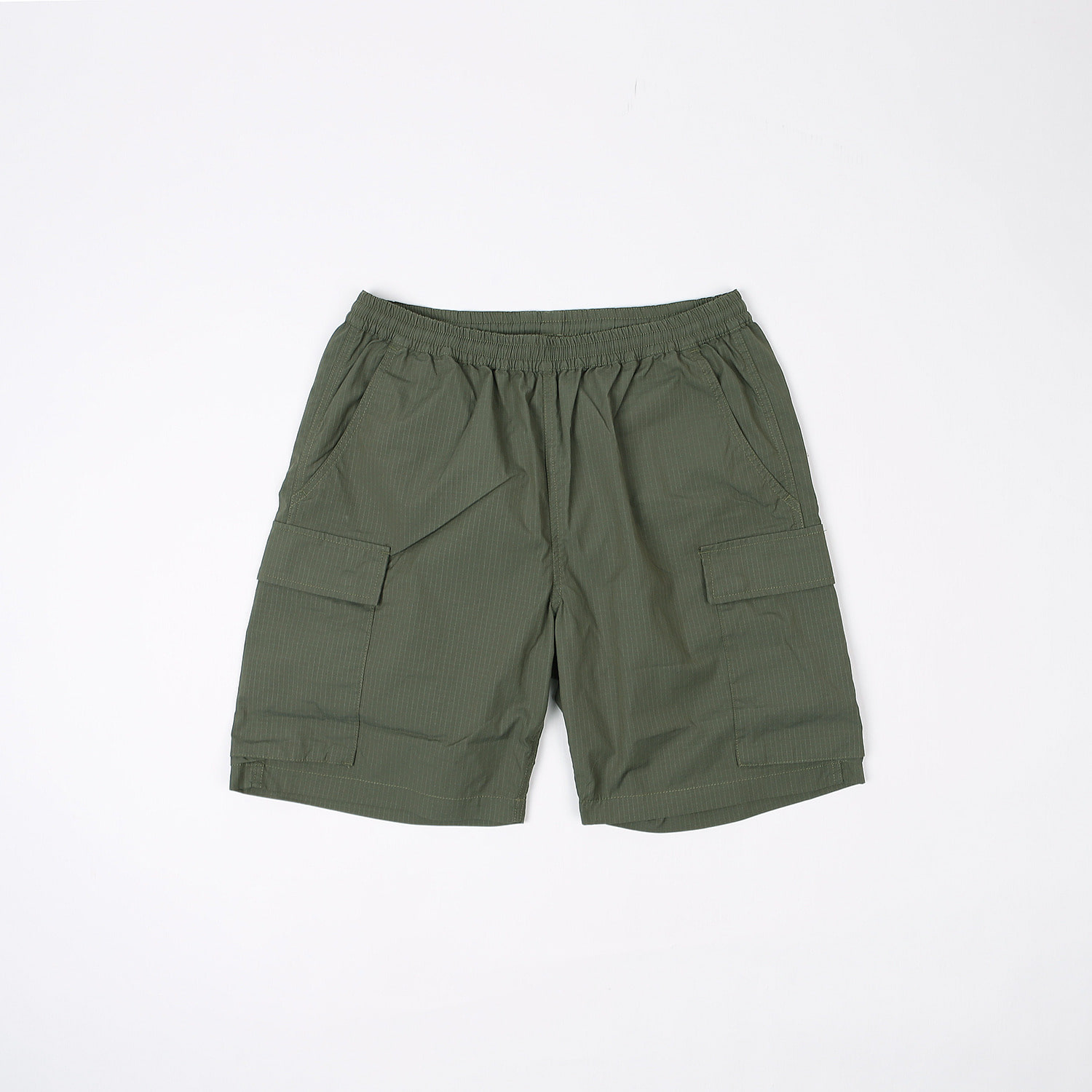 SD Coolmax Stretch Ripstop Easy Cargo Shorts (Olive)