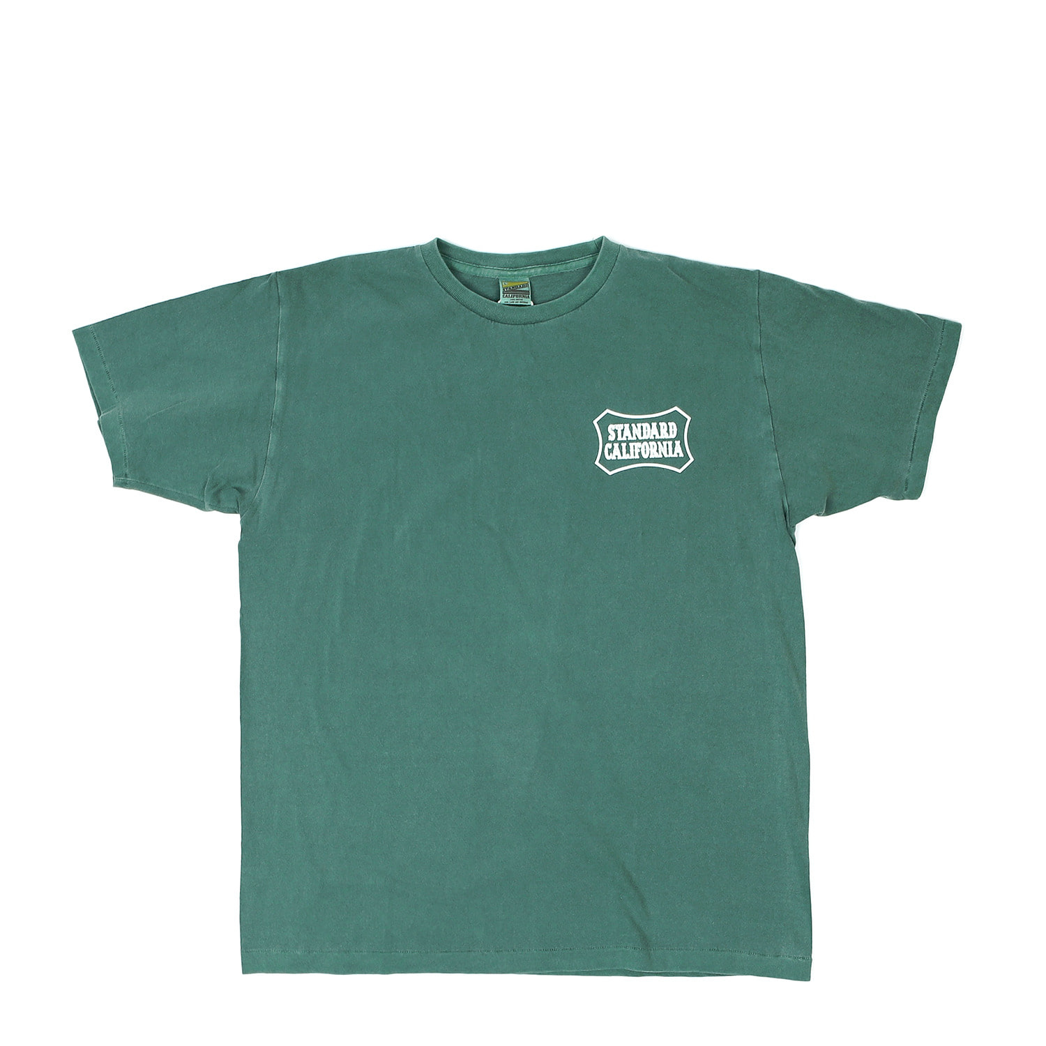 SD Stay Stoked Shield Logo T-Shirt (Green)